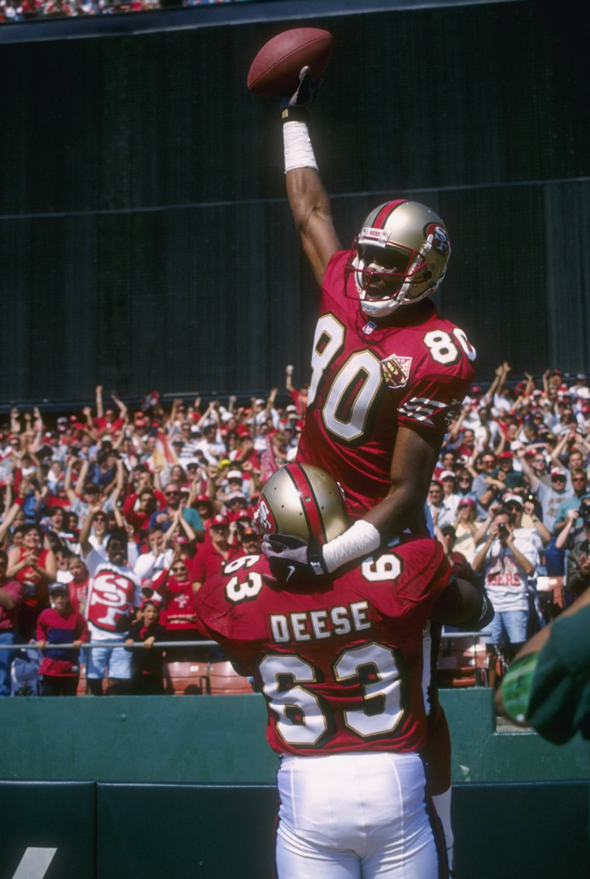 jerry rice 49ers wallpaper submited images