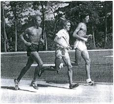 Jeff Galloway, Steve Prefontaine and Frank Shorter